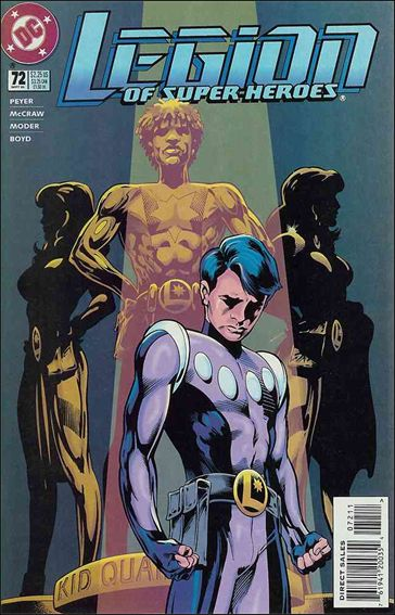 Legion of Super-Heroes (1989) 72-A by DC