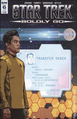 Star Trek: Boldly Go 6-B