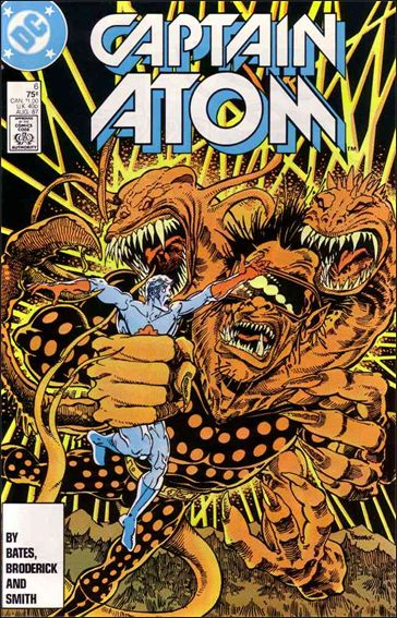 Captain Atom (1987) 6-A by DC