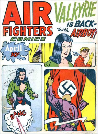 Air Fighters Comics (1943) 7-A by Hillman