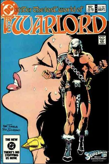 Warlord (1976) 73-A by DC