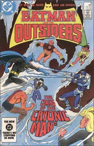 Batman and the Outsiders (1983) 6-A by DC
