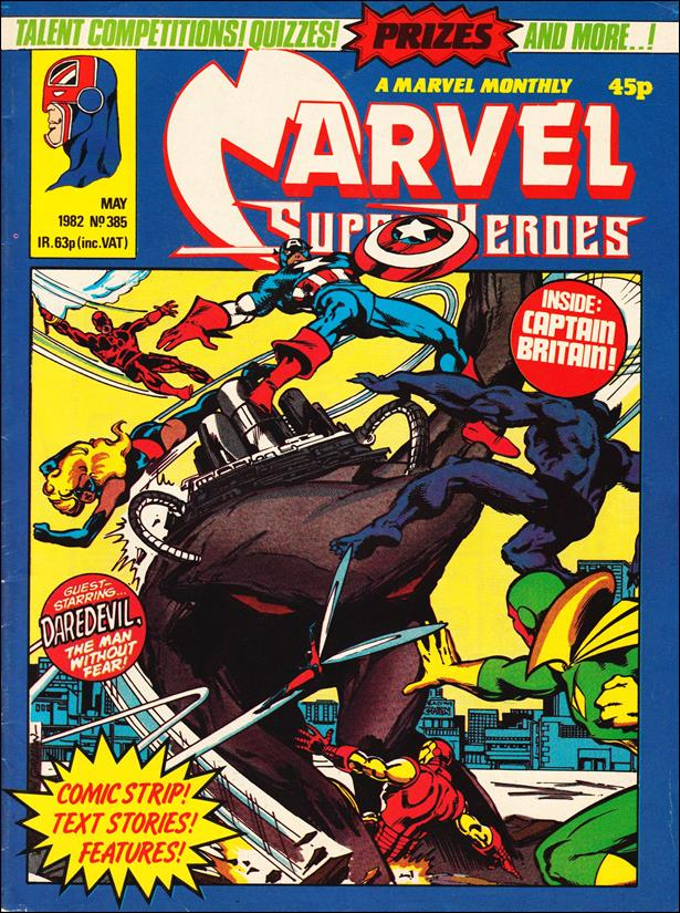 Marvel Superheroes (UK) 385-A by Marvel UK