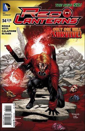 Red Lanterns 34-A