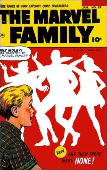 Marvel Family 89-A by Fawcett