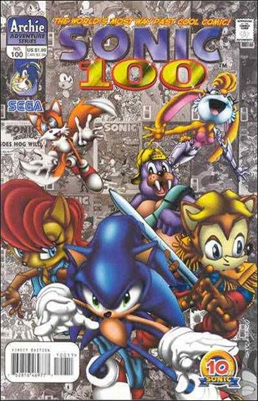 Sonic the Hedgehog (1993) 100-A by Archie