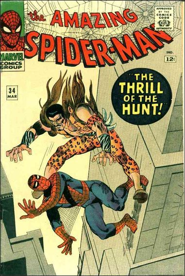 Amazing Spider-Man (1963) 34-A by Marvel