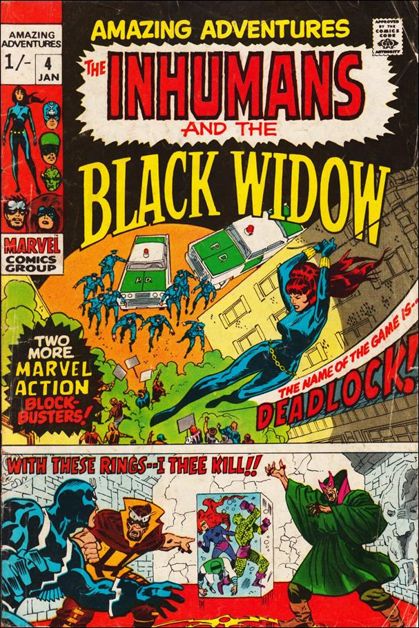 Amazing Adventures (1970) 4-B by Marvel