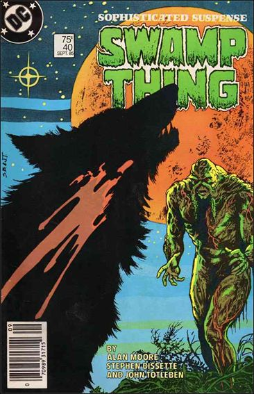 Saga of the Swamp Thing 40-A by DC