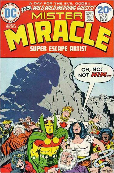 Mister Miracle (1971) 18-A by DC