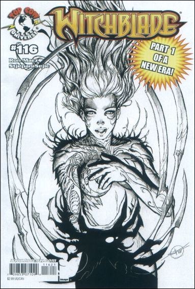 Witchblade 116-E by Top Cow