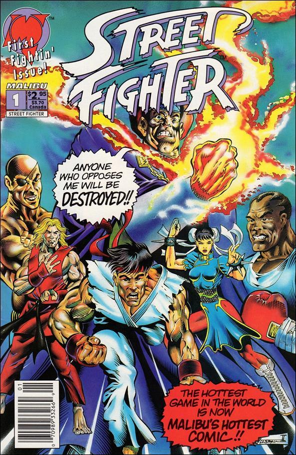 Street Fighter (1993) 1-D by Malibu