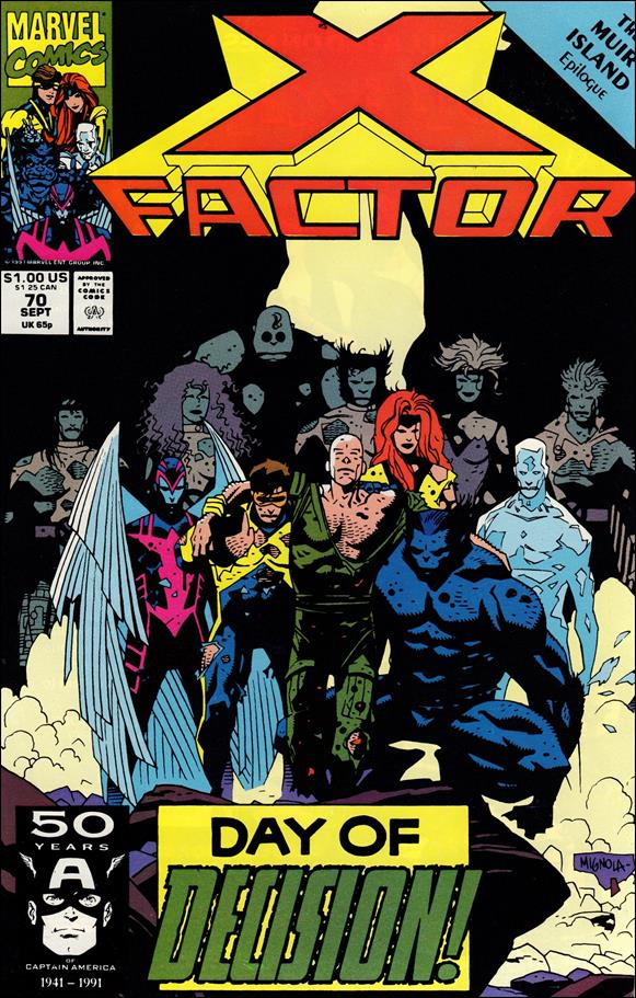 X-Factor (1986) 70-A by Marvel