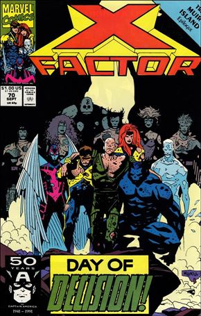 X-Factor (1986) 70-A