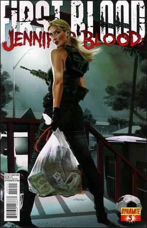 Jennifer Blood: First Blood 3-A by Dynamite Entertainment