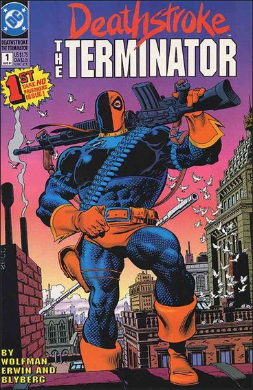 Deathstroke, the Terminator 1-A by DC