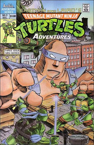 Teenage Mutant Ninja Turtles Adventures (1988) 3-A by Archie