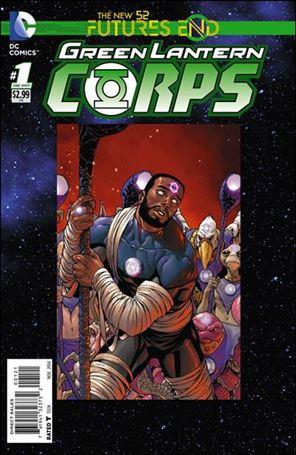 Green Lantern Corps: Futures End 1-B