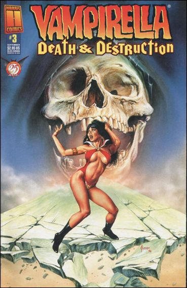 Vampirella: Death & Destruction 3-A by Harris