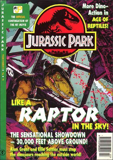 Jurassic Park (UK) 11-A by Dark Horse