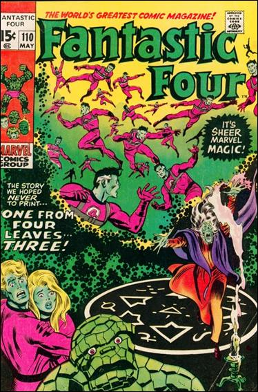 Fantastic Four (1961) 110-B by Marvel