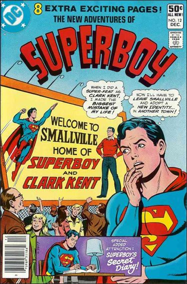 New Adventures of Superboy 12-A by DC