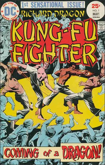 Richard Dragon, Kung-Fu Fighter 1-A by DC