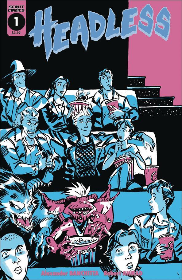 Headless 1-B by Scout Comics