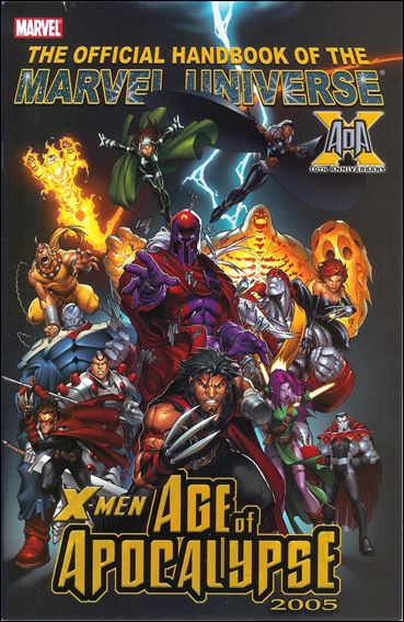 Official Handbook of the Marvel Universe: X-Men - Age of Apocalypse 2005 nn-A by Marvel