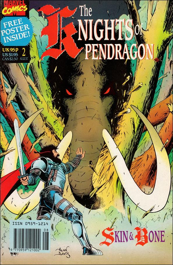 Knights of Pendragon (UK) (1990) 2-A by Marvel UK