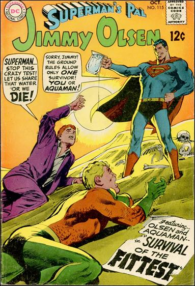 Superman's Pal Jimmy Olsen 115-A by DC