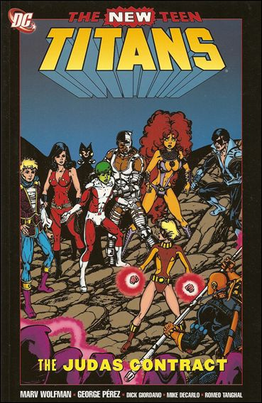 New Teen Titans: The Judas Contract 1-B by DC
