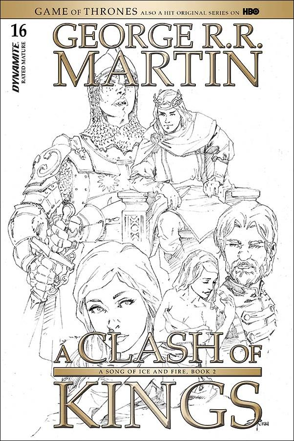 George R. R. Martin's A Clash of Kings 16-D by Dynamite Entertainment