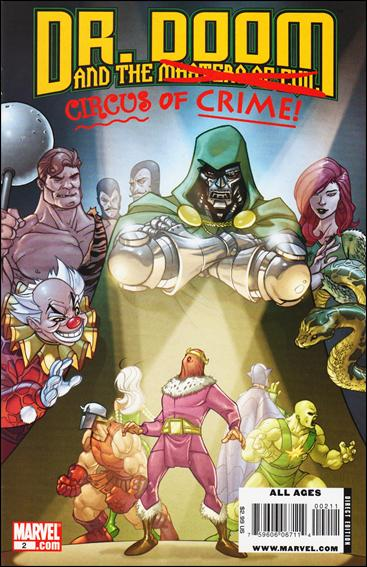 Doctor Doom and the Masters of Evil 2-A by Marvel