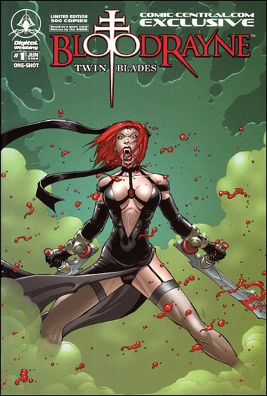 Bloodrayne: Twin Blades 1-B by Digital Webbing