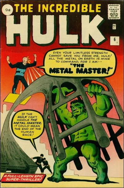 Incredible Hulk (1962) 6-B by Marvel