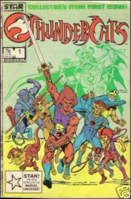 Thundercats Tigra on Thundercats 1 B  Dec 1985 Comic Book By Star