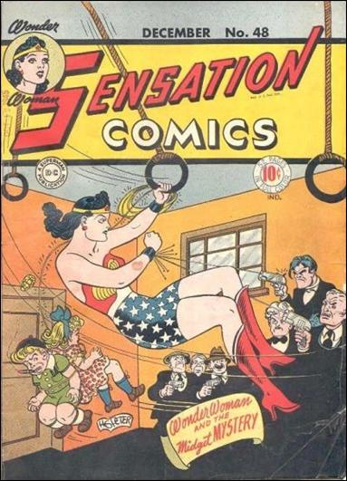 Sensation Comics (1942) 48-A by DC