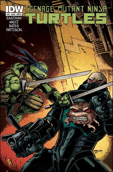 Teenage Mutant Ninja Turtles (2011) 20-B by IDW
