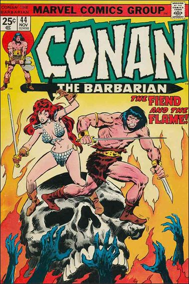 Conan the Barbarian (1970) 44-A by Marvel