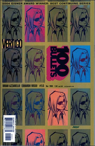100 Bullets 53-A by Vertigo