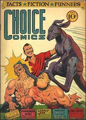 Choice Comics 1-A by Great Publications