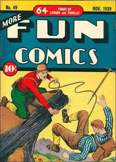 More Fun Comics 49-A by DC