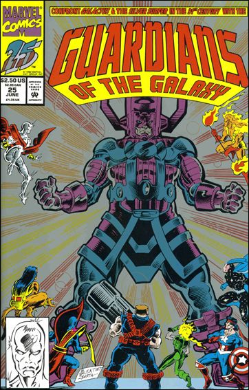 Guardians of the Galaxy (1990) 25-B by Marvel