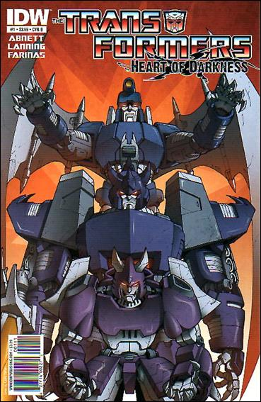 Transformers: Heart of Darkness 1-B by IDW