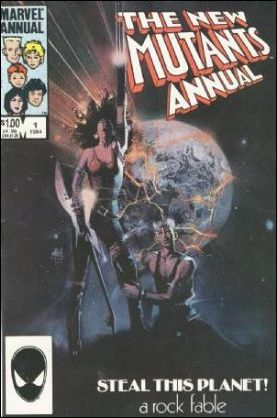 New Mutants Annual 1-A by Marvel