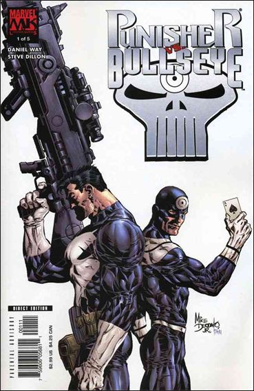 Punisher vs Bullseye 1-A by Marvel Knights