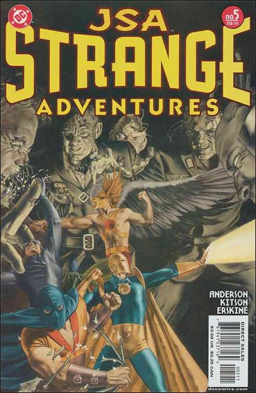 JSA Strange Adventures 5-A by DC