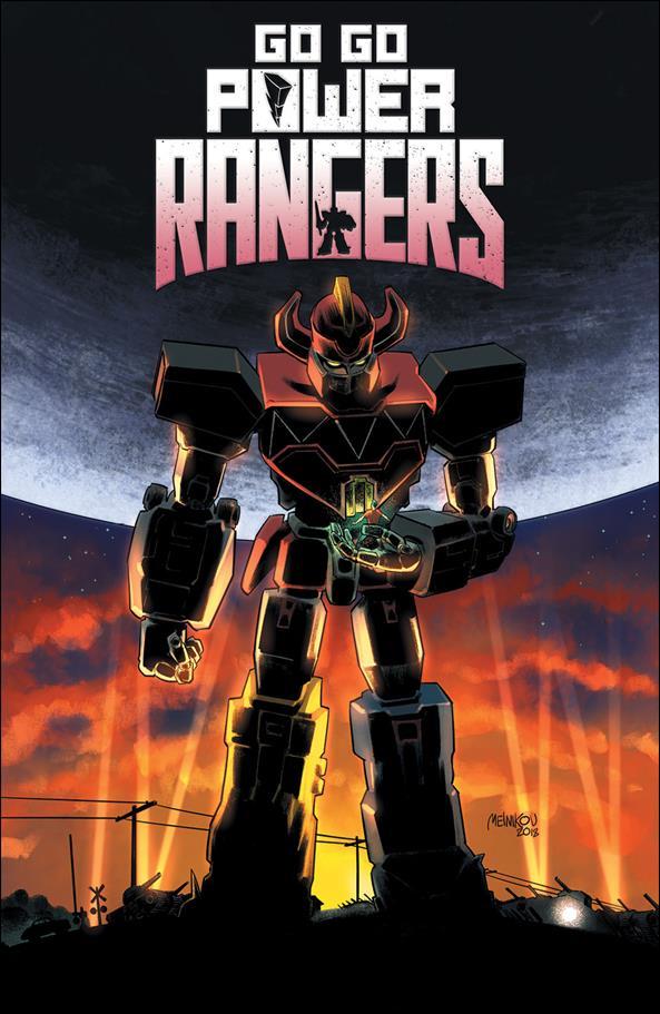 Saban's Go Go Power Rangers 20-D by Boom! Studios