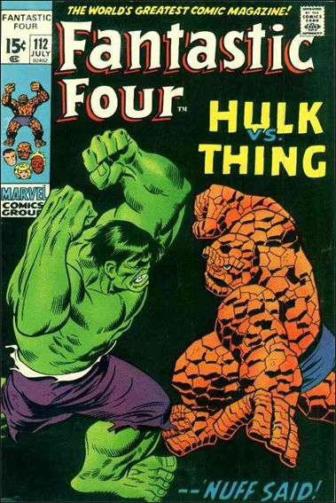 Fantastic Four (1961) 112-A by Marvel